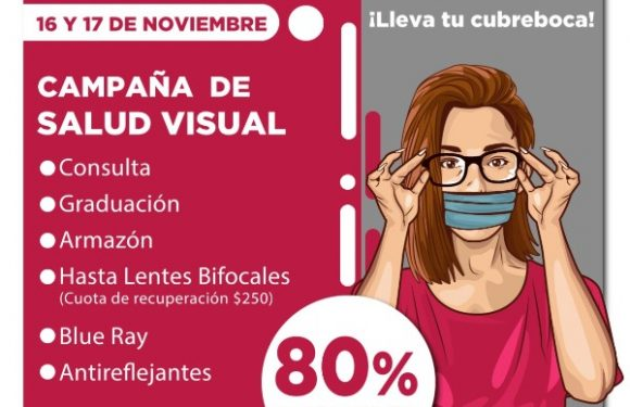 Campaña del año de Salud visual en Huixtla