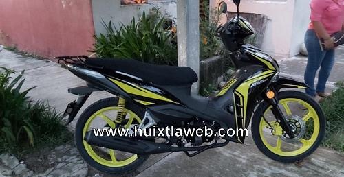 Roban moto en centro de Mapastepec
