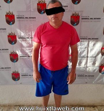Huixtleco detenido por violación