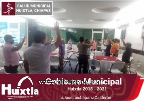 Gobierno de Huixtla acuerda con líderes tricicleros el programa: transporte responsable