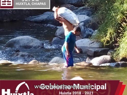 Sapam realiza trabajos de mantenimiento en centro de captación en el Rio Negro