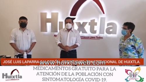 La salud de la población es una prioridad: José Luis Laparra Calderón