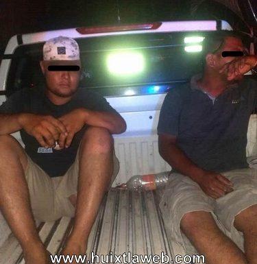 Ex policías detenidos por robo