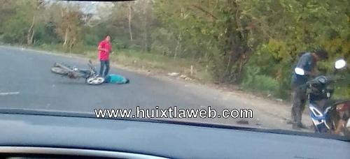 Empleado del ingenio muere en accidente de motocicleta