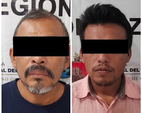 Vinculan a Proceso dos personas por delito de robo con violencia en Huixtla: FGE