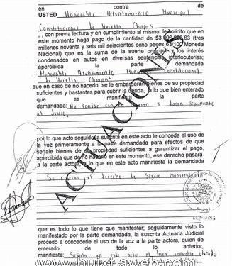 Embargan bienes del ayuntamiento de Huixtla