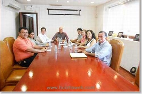 Se reúne Comité de Reconstrucción con Manuel Velasco