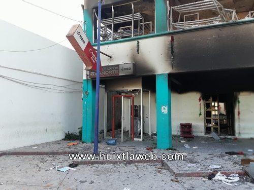 La fiscalía detienen a implicados en la quema de edificios en Escuintla