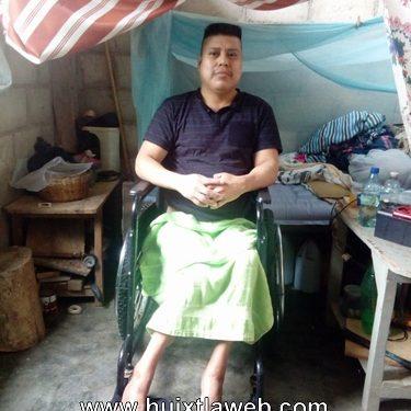 Discapacitado Motozintleco no le llega el apoyo de gobierno