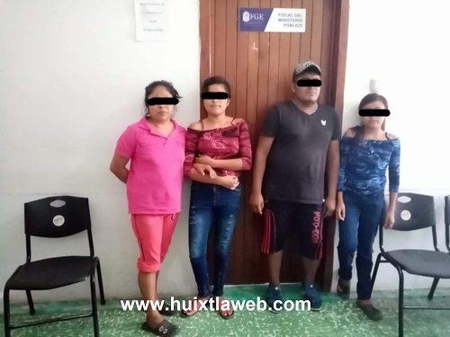 Aparecen niñas de Escuintla, estaban en casa del novio