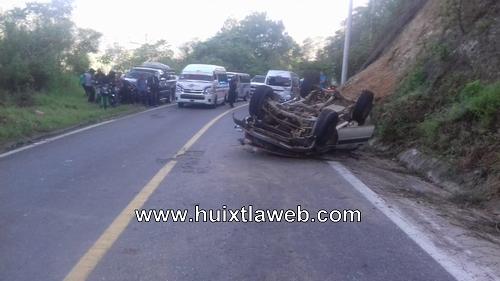 Siete muertos y 7 heridos el saldo de accidente Motozintla Huixtla