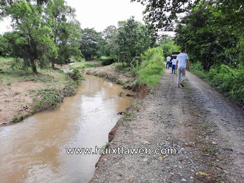 Se desbordan ríos en Huehuetán y deja comunidades incomunicadas