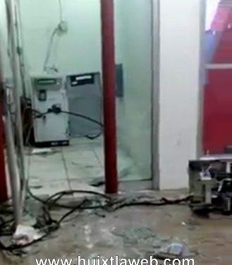 Desmantelan cajero Banorte en la presidencia municipal de Mazatán