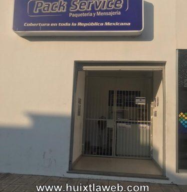 Roban envíos en PACK SERVICE de Huixtla