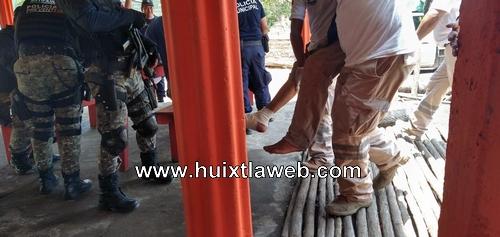Huixtleco es baleado en zona estuaria