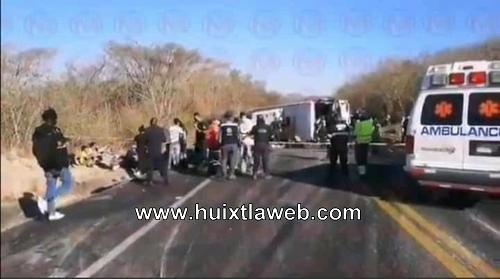 Jovencita tuzanteca entre las víctimas de accidente de autobús tijuanero
