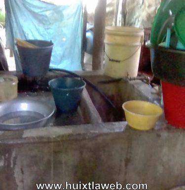 Alarmante escases de agua en Tuzantán