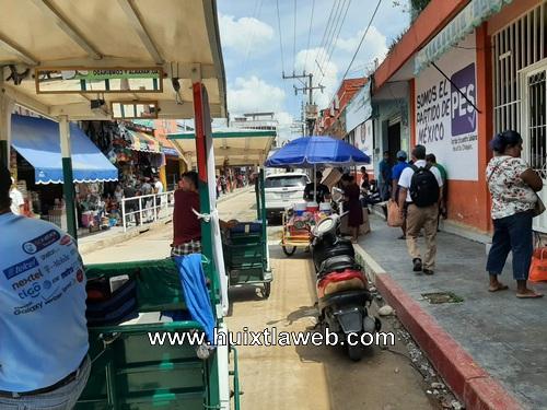 Aumentan triciclos piratas en Huixtla