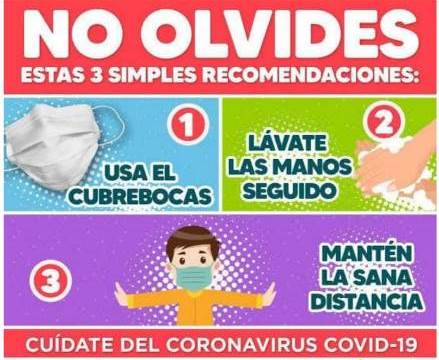 Cuídate ante incremento de contagios