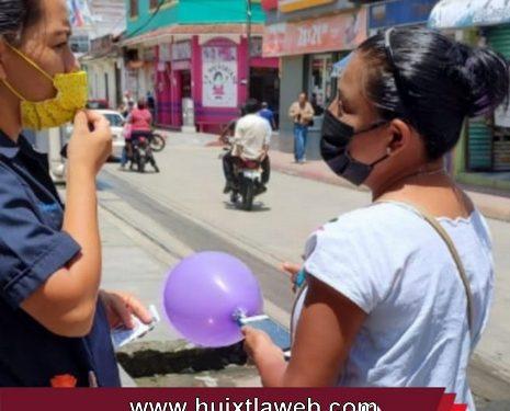 Gobierno de Huixtla mantiene campaña de estudios PCR