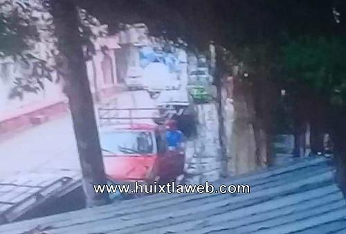 En Motozintla abandonan carro robado en Huixtla