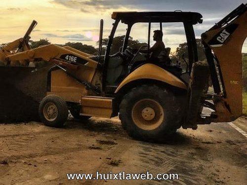 Desconocidos amarran al velador y roban maquinaria carretera Mapastepec Pijijiapan