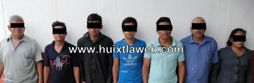 Vinculación a proceso contra siete personas por delito de despojo en Tuzantán