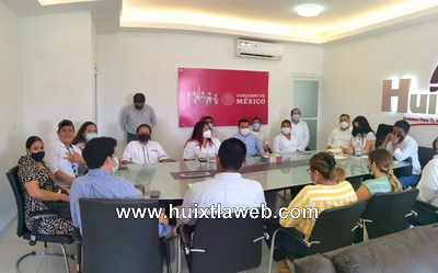 Inician comisiones proceso de entrega recepción para el gobierno municipal de Huixtla 2021-2024