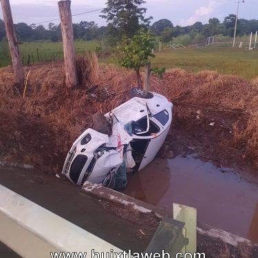 Jarocho se accidenta Tapachula Huixtla
