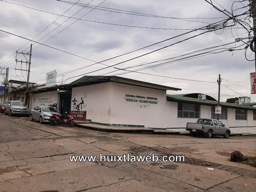 Escuela primaria de Huixtla suspendió clases presenciales