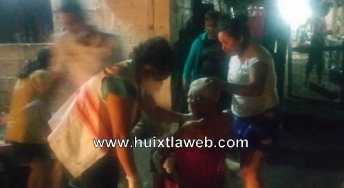 Abuelo salvadoreño fue atacado a machetazos en Huehuetán