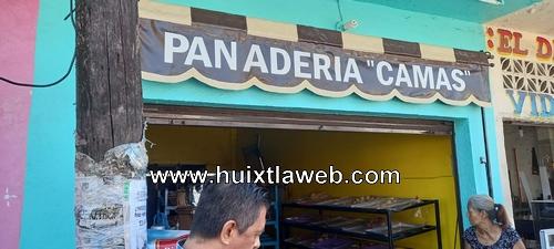 Roban en panadería y en zapatería de Huixtla